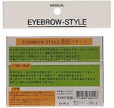 Augenbrauenschablonen Größe B1, B2, B3, B4 - Magical Eyebrow Style — Bild N2