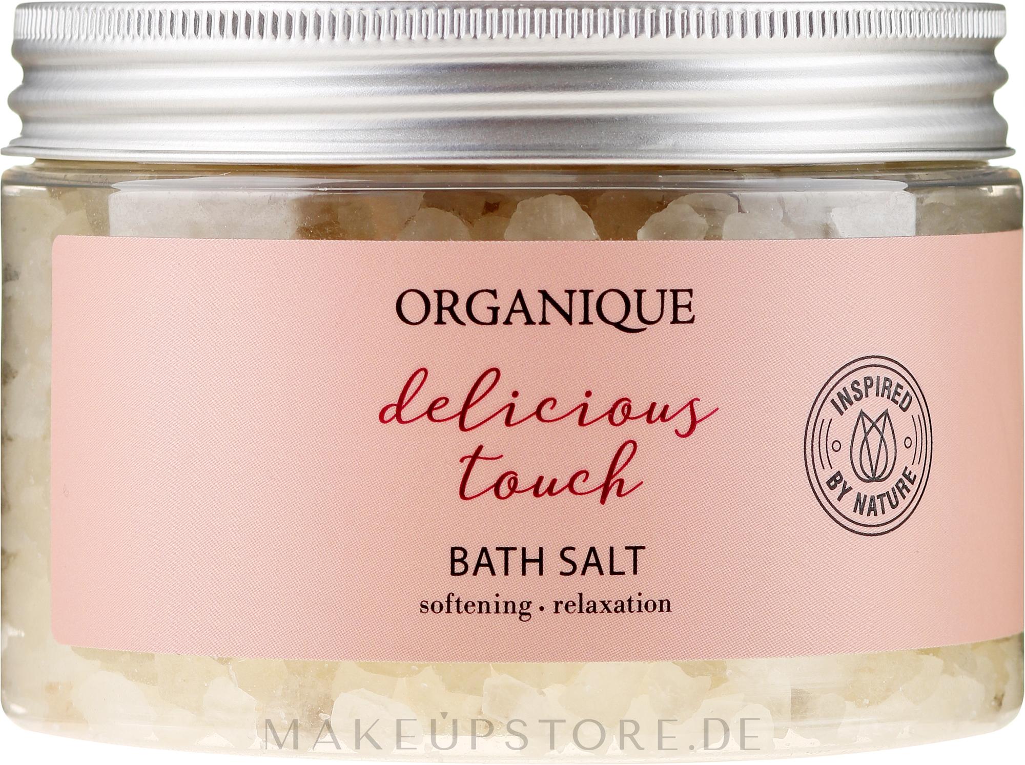 Entspannendes Badesalz Delicious Touch - Organique — Bild 600 g
