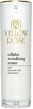 Düfte, Parfümerie und Kosmetik Regenerierendes Gesichtsserum mit Fruchtstammzellen und Extrakten - Yellow Rose Cellular Revitalizing Serum