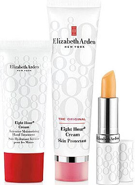 Set - Elizabeth Arden Eight Hour Cream Original Set (b/cr/50ml + l/balm/3,7g + h/cr/30ml) — Bild N1