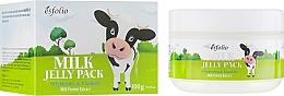 Düfte, Parfümerie und Kosmetik Aufhellende Lifting-Maske mit Milchproteinextrakt - Esfolio Milk Shape Memory Jelly Pack