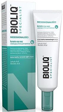 Beruhigende Nachtcreme gegen Akne - Bioliq Specialist Acne Marks Removal Night Cream — Bild N1