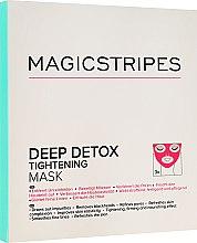 Düfte, Parfümerie und Kosmetik Feuchtigkeitsspendende Detox Maske für Gesicht - Magicstripes Deep Detox Tightening Mask