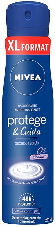 Deospray Antitranspirant - Nivea Protege & Cuida Deodorant — Bild N1