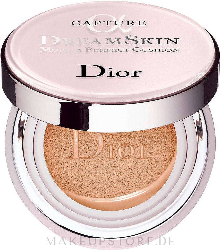 Cushion Foundation (2 x 15 g) - Dior Capture Dreamskin Moist & Perfect Cushion SPF 50 PA+++  — Bild 010 - Ivory
