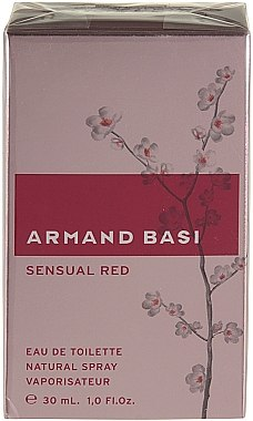 Armand Basi Sensual Red - Eau de Toilette — Bild N2