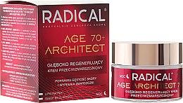 Düfte, Parfümerie und Kosmetik Tief regenerierende Nachtscreme für Hals und Gesicht mit Lifting-Effekt 70+ - Farmona Radical Age Architect Cream 70+