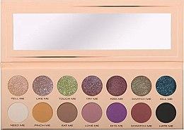 Düfte, Parfümerie und Kosmetik Lidschattenpalette mit 14 Farben - Pierre Rene Palette Match System Eyeshadow Pinch Me