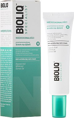 Tagescreme gegen Falten - Bioliq Specialist Niedoskonałośc Anti-Wrinkle Day Care Cream — Bild N1