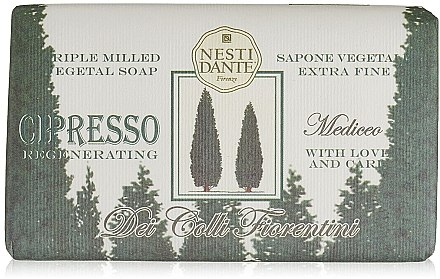 Naturseife Cypress - Nesti Dante Regenerating Soap Dei Colli Fiorentini Collection — Bild N1