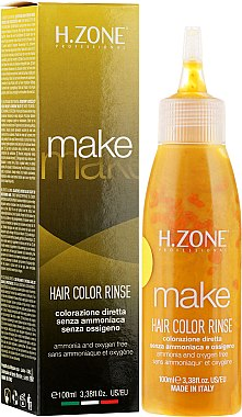 Ammoniakfreie Haarfarbe - H.Zone Make Up Hair Color Rinse — Bild N1