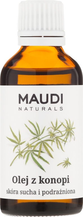 Hanfsamenöl für trockene und gereizte Haut - Maudi — Bild N1