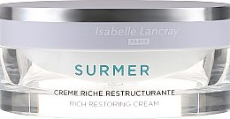 Reichhaltige reparierende Anti-Falten Gesichtscreme für sehr trockene Haut - Isabelle Lancray Surmer Rich Restoring Cream — Bild N2