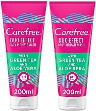 Düfte, Parfümerie und Kosmetik Körperpflegeset - Carefree Aloe Vera Intimate Gel (Intimhygienegel 2x 200ml)