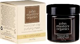 Düfte, Parfümerie und Kosmetik Gesichtsreinigungsmaske - John Masters Organics Moroccan Clay Purifying Mask
