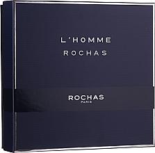 Düfte, Parfümerie und Kosmetik Rochas L'Homme Rochas - Duftset (Eau de Toilette 100ml + Duschgel 100ml + After Shave Balsam 100ml)