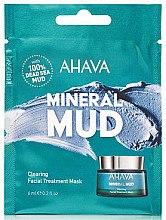 Düfte, Parfümerie und Kosmetik Gesichtsmaske mit mineralienreichem Schlamm aus dem Toten Meer - Ahava Mineral Mud Clearing Facial Treatment Mask (Probe)