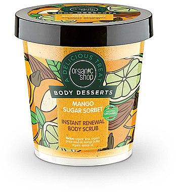 Antioxidatives Körperpeeling mit Bio Mangobutter - Organic Shop Body Desserts Mango Sugar Sorbet — Bild N1