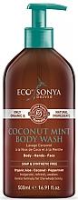 Düfte, Parfümerie und Kosmetik Duschgel mit Kokos und Minze - Eco by Sonya Coconut Mint Body Wash