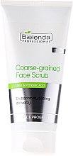 Düfte, Parfümerie und Kosmetik Grobkorn-Gesichtspeeling für fettige und Mischhaut - Bielenda Professional Face Program Coarse-Grained Face Peeling