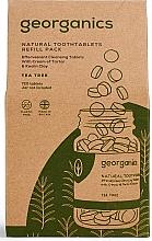 Düfte, Parfümerie und Kosmetik Zahnputztabletten mit Teebaum - Georganics Natural Toothtablets Tea Tree (Refill)