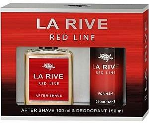 La Rive Red Line - Duftset (After Shave/100ml + Deodorant/150ml) — Bild N1