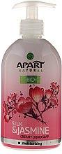 Düfte, Parfümerie und Kosmetik Cremige Flüssigseife Seide & Jasmin - Apart Natural Silk & Jasmine Soap