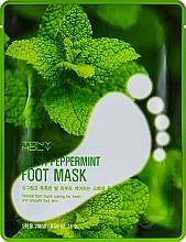 Düfte, Parfümerie und Kosmetik Feuchtigkeitsspendende Fußmaske mit Pfefferminze-Extrakt - Tony Moly Fresh Peppermint Foot Mask
