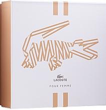 Düfte, Parfümerie und Kosmetik Lacoste Pour Femme - Duftset (Eau de Parfum 50ml + Körperlotion 100ml)