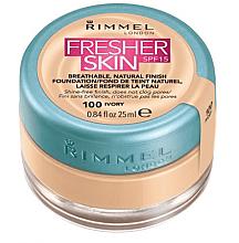 Düfte, Parfümerie und Kosmetik Atmungsaktive Foundation LSF 15 - Rimmel Fresher Skin