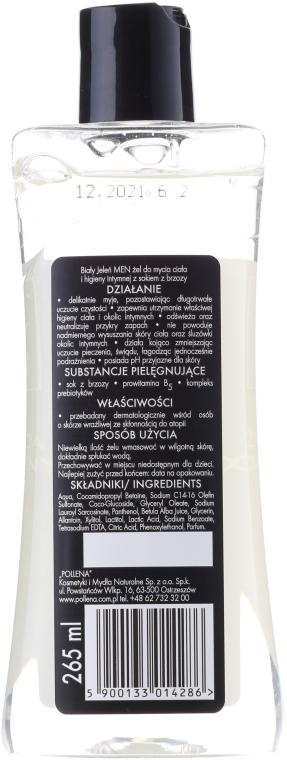 2in1 Intimpflegegel für Männer mit Birkensaft - Bialy Jelen Hypoallergenic Body Gel and Intimate Hygiene 2in1 — Bild N2