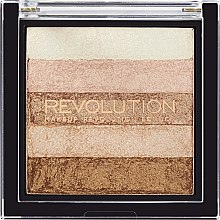 Schimmerpuder mit 5 Farben - Makeup Revolution Shimmer Brick — Bild N1