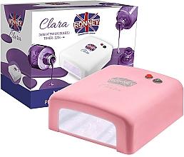 Düfte, Parfümerie und Kosmetik UV-Lampe für Nageldesign Clara rosa - Ronney Profesional Clara UV 36W (GY-UV-818) Lamp