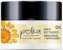 Düfte, Parfümerie und Kosmetik Feuchtigkeitsspendende Gesichtscreme mit Bernsteinextrakt - Polka Face Cream
