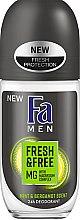 Düfte, Parfümerie und Kosmetik Deo Roll-on Minze & Bergamotte - Fa Men Fresh & Free Deodorant