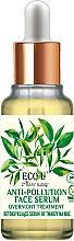 Düfte, Parfümerie und Kosmetik Anti-Pollution Nachtserum für das Gesicht - Eco U Natural Face Serum Anti-Pollution Overnight Treatment