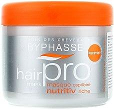 Pflegende und schützende Haarmaske für trockene Haut - Byphasse Hair Pro Mask Nutritiv Riche — Bild N1