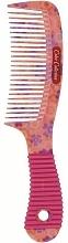 Düfte, Parfümerie und Kosmetik Haarkamm mit gummiertem Griff 499054 rosa - Inter-Vion