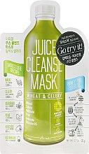 Düfte, Parfümerie und Kosmetik Reinigende Gesichtsmaske mit Weizen und Sellerie - Ariul Juice Cleanse Mask Wheat & Celery