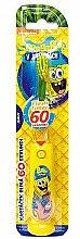 Düfte, Parfümerie und Kosmetik Kinderzahnbürste mit Timer SpongeBob gelb - VitalCare Sponge Bob Toothbrush