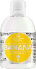 Düfte, Parfümerie und Kosmetik Stärkendes Shampoo mit Bananenextrakt und Vitaminkomplex - Kallos Cosmetics Banana Shampoo