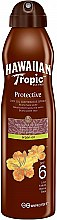 Düfte, Parfümerie und Kosmetik Trockenes Sonnenschutzspray-Öl für den Körper mit Arganöl SPF 6 - Hawaiian Tropic Protective Dry Oil Continuous Spray Aragan Oil SPF 6