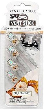 Auto-Lufterfrischer Soft Blanket Duftstick - Yankee Candle Vent Stick Soft Blanket — Bild N1
