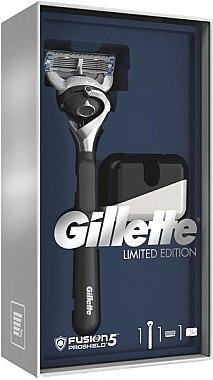 Set - Gillette Fusion5 ProShield Chill (Rasierer/1St. + Ständer) — Bild N1