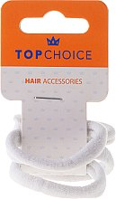Düfte, Parfümerie und Kosmetik Haargummis weiß 4 St. 2579 - Top Choice