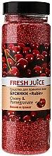 Düfte, Parfümerie und Kosmetik Badeperlen Kirsche & Granatapfel - Fresh Juice Bath Bijou Rubin Cherry and Pomergranate
