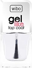 Düfte, Parfümerie und Kosmetik Schnelltrocknender Nagelüberlack mit Gel-Effekt - Wibo Gel Like Top Coat