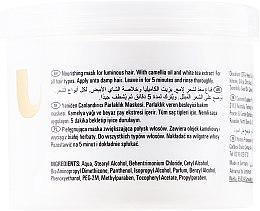 Pflegende Maske für strahlendes und glattes Haar - Wella Professionals Oil Reflections Luminous Reboost Mask — Bild N4