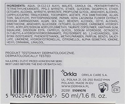 Enzymatische Anti-Falten Nachtcreme - Dermika Hydralogiq Cream 40+ — Bild N3