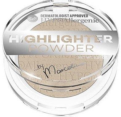 Gesichtspuder - Bell HYPOAllergenic Highlighter Powder by Marcelina — Bild N1